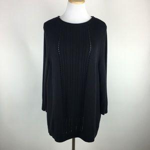 Lucky Brand open back sweater Sz 1X